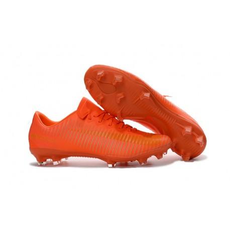 Nike Mercurial Vapor XI FG 2016 Scarpini da Calcio Tutto Arancio