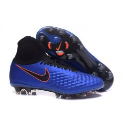 Nike Magista Obra 2 FG Scarpa da Calcio Uomo Blu Nero