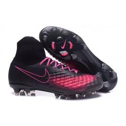Scarpa da Calcio per Terreni duri Nike Magista Obra II FG Nero Rosa