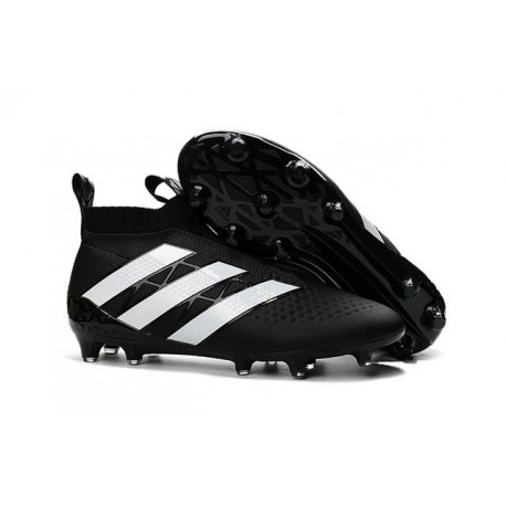 adidas Scarpe da Calcio Ace16+ Purecontrol FG/AG Nero Bianco