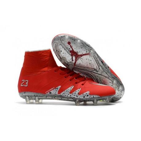Nike HyperVenom Phantom II FG - scarpe da calcio terreni compatti - rosso metallico