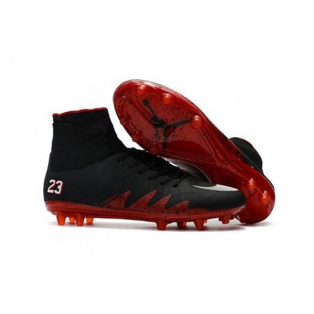 online retailer 64b46 92de7 Nike HyperVenom Phantom II FG - scarpe da calcio terreni compatti -Neymar X  Jordan Nero Rosso