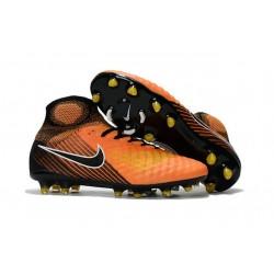 Nike Magista Obra 2 FG Nuove Scarpe da Calcio Arancio Nero