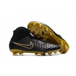 Nike Magista Obra 2 FG Nuove Scarpe da Calcio Nero Oro