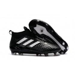 Scarpe da Calcio adidas Ace17+ Purecontrol FG Nero Bianco