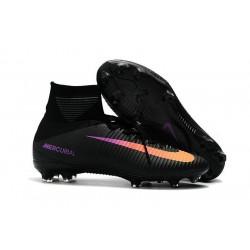 Nike Scarpa Calcio Uomo 2017 Mercurial Superfly V FG ACC Nero Arancio