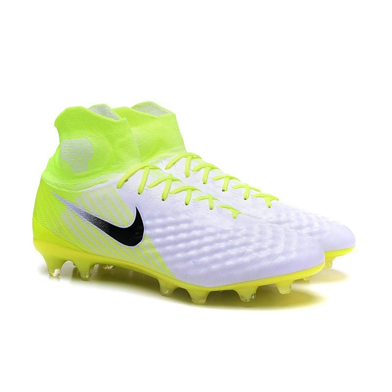 Obra Calcio Nike Nuove Bianco Nero 2 Volt Fg Scarpe Da Magista uwkXZiTPO
