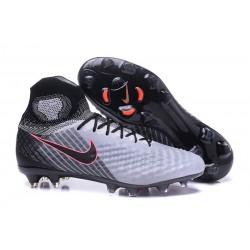 Nike Magista Obra 2 FG Nuove Scarpe da Calcio Grigio Nero