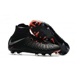Nike Scarpe Calcio - Hypervenom Phantom III DF FG - Nero Metallico