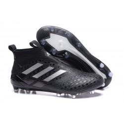 adidas Ace17+ Purecontrol FG - Nuovo Scarpa da Calcio Uomo - Nero Metallic