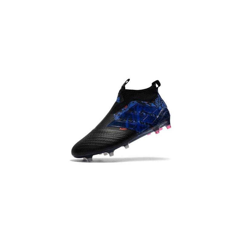 best website 50eb3 054cd adidas Ace17+ Purecontrol Dragon FG - Nuovo Scarpa da Calcio Uomo - Nero Blu