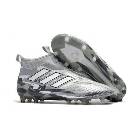 Calcio Da Fg Grigio Adidas Purecontrol Scarpa Nuovo Ace17 Uomo xCfx7qzw