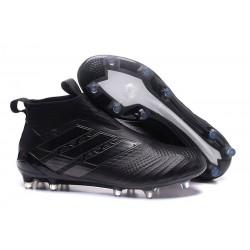 adidas Nuove Calcio Scarpa Ace17+ Purecontrol FG (Tutto Nero)