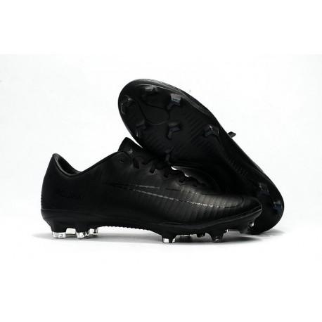 Nuovo Scarpa da Calcio Nike Mercurial Vapor 11 FG Tutto Nero