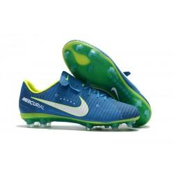 Nike Mercurial Vapor XI FG Scarpe Calcio Neymar - Blu Bianco