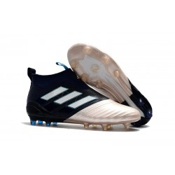 adidas Kith Nuove Calcio Scarpa Ace17+ Purecontrol FG (Oro Nero)