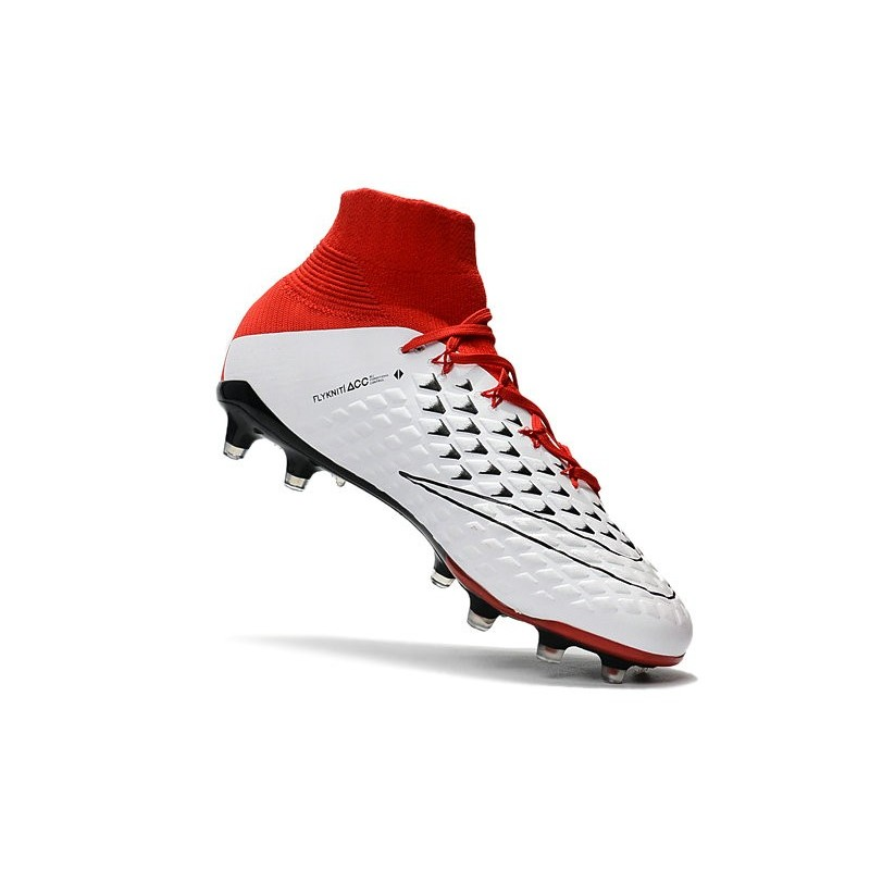 Phantom Iii Df Scarpe Nike Hypervenom Fg Bianco Calcio Rosso bIf76Yyvg