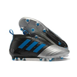adidas Nuove Calcio Scarpa Ace17+ Purecontrol FG (Nero Metallico Blu)