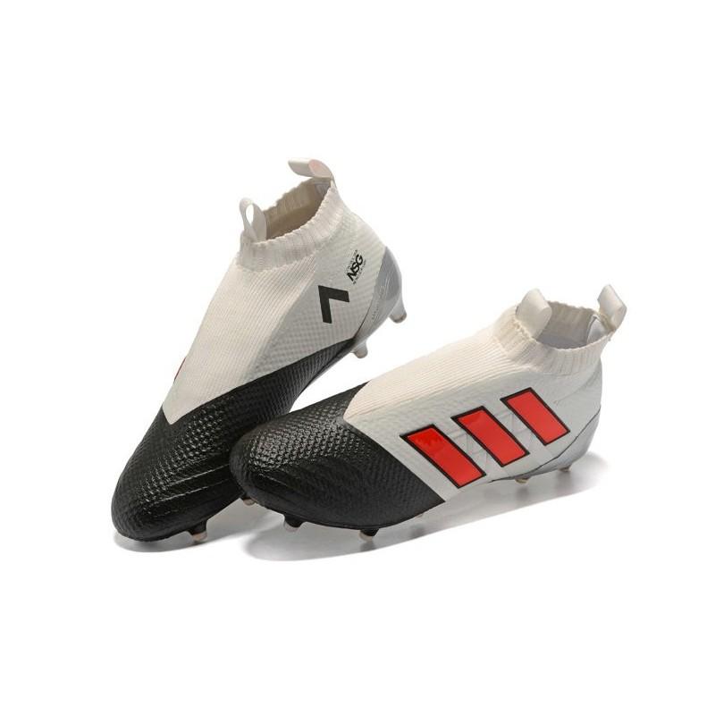 Scarpe Purecontrol 2017 Ace17 Nero Fg Adidas Rosso Calcio Grigio 7wOHq7U