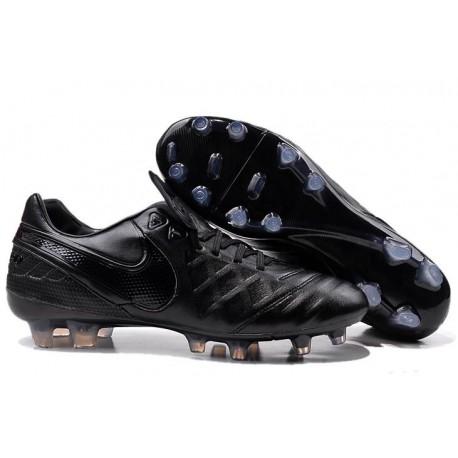 Scarpa da Calcio Nike Tiempo Legend V FG Canguro Tutte Nero