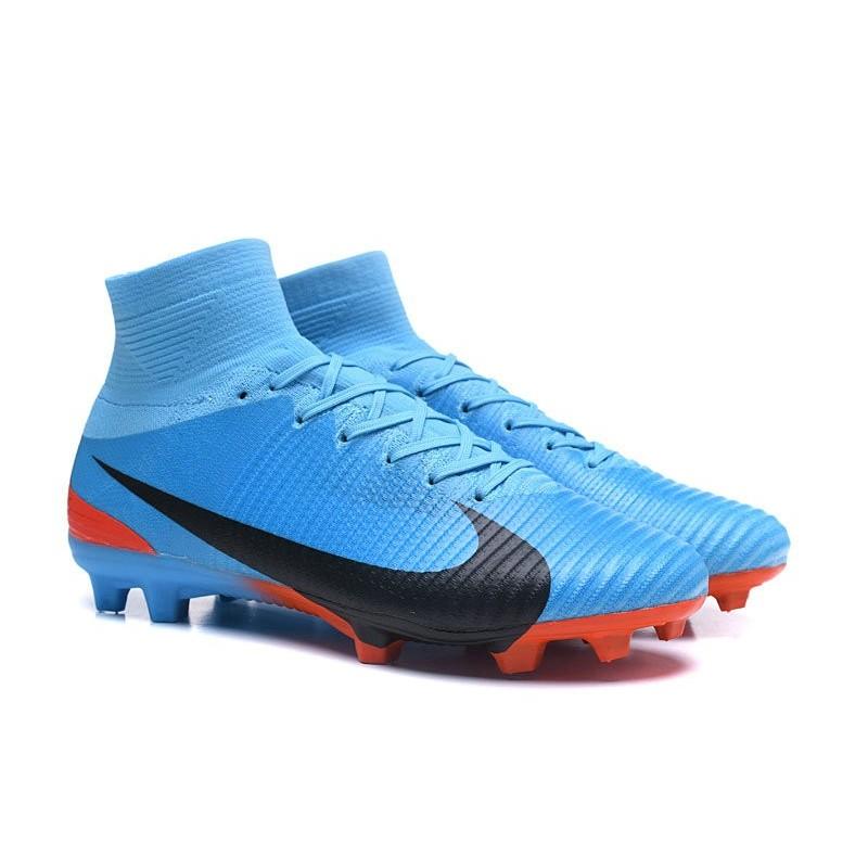 Calcio Nike Fg Nero Mercurial 5 Scarpe Superfly Blu LSVpMjGqUz