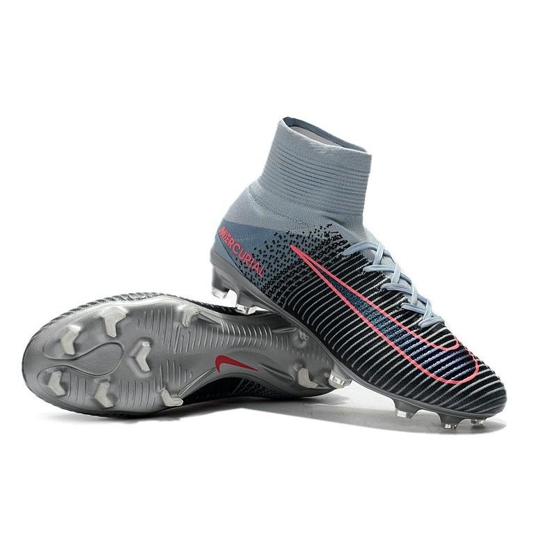 5 Mercurial Arancio Calcio Scarpe Superfly Grigio Nike Fg kuOPZXiT