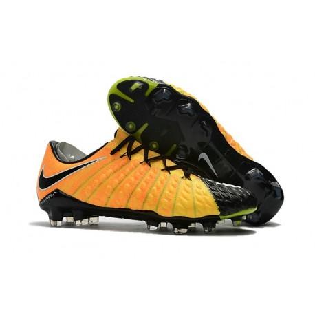 Scarpa da Calcio per Terreni Duri Nike Hypervenom Phantom III FG Jaune Noir