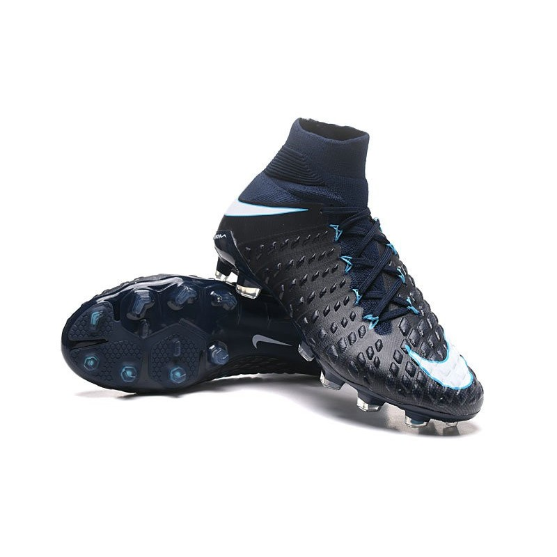 3 Scarpe Calcio Hypervenom Bianco Df Nero Phantom Fg Uomo Nike dQrshBtCx