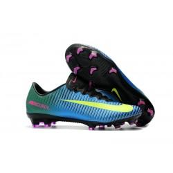 Nike Mercurial Vapor XI FG - scarpa da calcio terreni compatti - blu giallo