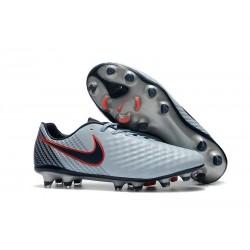 Scarpa da Calcio Nike Magista Opus II FG Terreni Uomo Grigio Nero