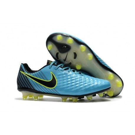 Scarpa da Calcio Nike Magista Opus II FG Terreni Uomo Blu Nero
