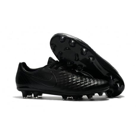 Scarpa da Calcio Nike Magista Opus II FG Terreni Uomo Tutto Nero