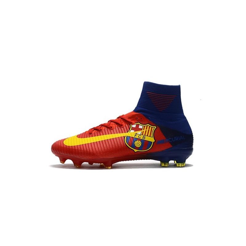 1763d3f05 Superfly Nike Da Mercurial Fg Scarpa Blu Calcio Rosso Acc Barcelona q84fE4