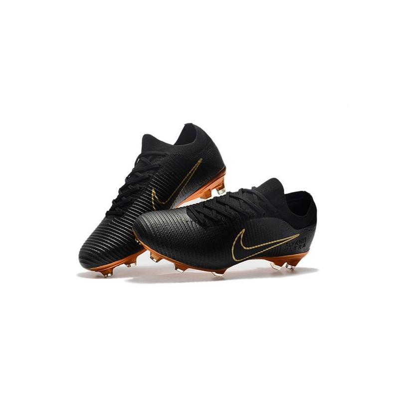 Nike Mercurial Vapor Flyknit Ultra FG Scarpe da calcio Orange Yellow