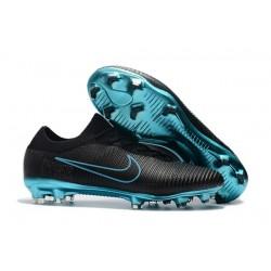 Scarpe Calcio Nuovo Nike Mercurial Vapor Flyknit Ultra FG - Nero Blu