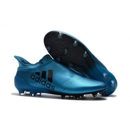 adidas Nuovo Scarpa X 17+ Purespeed FG Blu