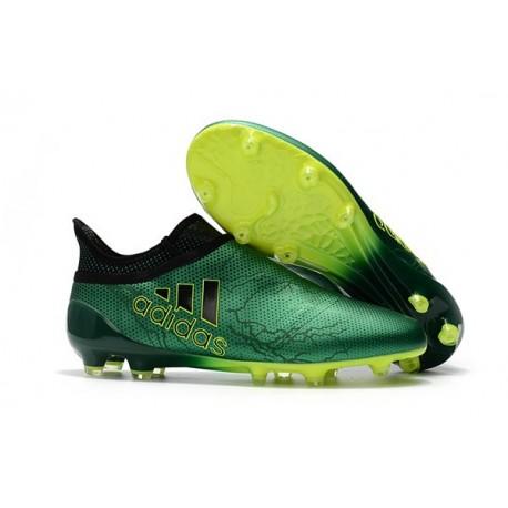 adidas Nuovo Scarpa X 17+ Purespeed FG Verde