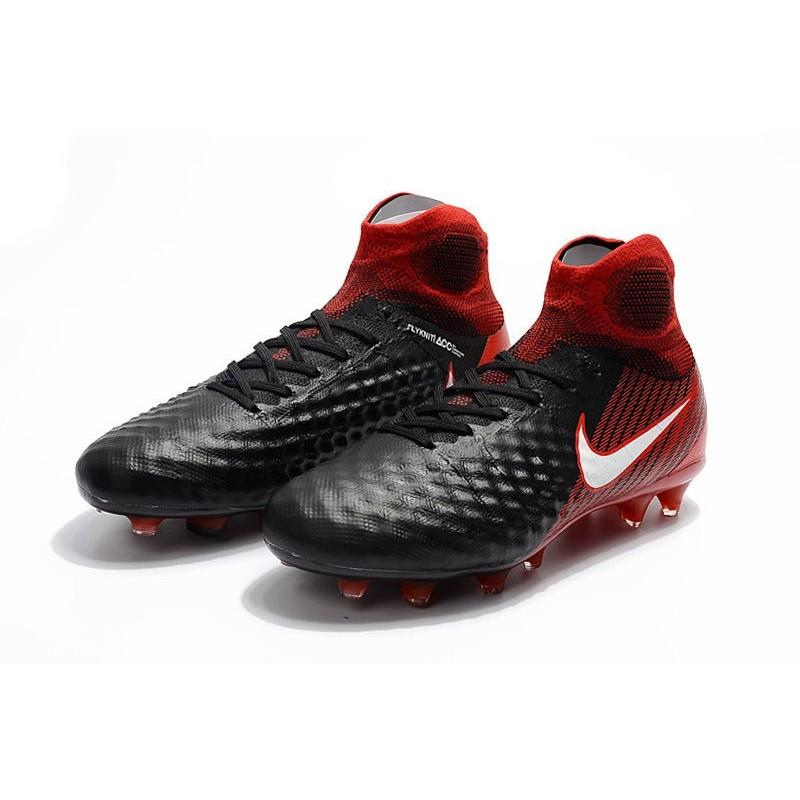 finest selection ea2a5 e7539 ... low cost nike magista obra ii fg scarpe da calcio nero rosso a487f 70231