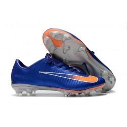 Scarpe Calcio Nuovo Nike Mercurial Vapor XI FG - Blu Arancio