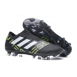 Scarpe da Calcio adidas Nemeziz Messi 17+ 360 Agility FG Nero Bianco