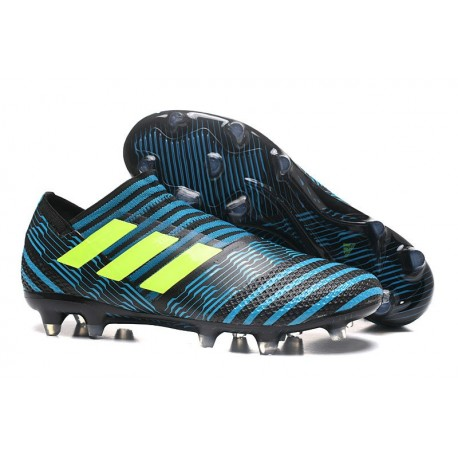 Scarpe adidas Nemeziz Messi 17+ 360 Agility Terreni Compatti - Nero Blu