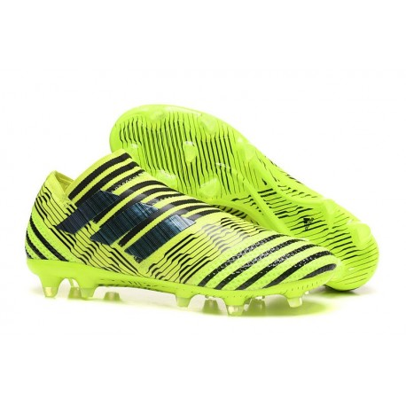 Scarpe adidas Nemeziz Messi 17+ 360 Agility Terreni Compatti - Verde Nero