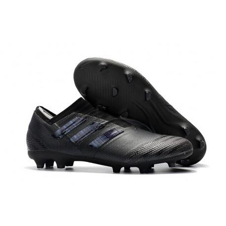 Scarpe adidas Nemeziz Messi 17+ 360 Agility Terreni Compatti - Tutto Nero