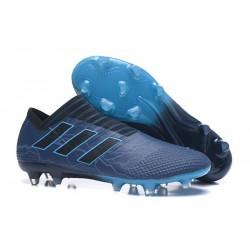 Scarpe adidas Nemeziz Messi 17+ 360 Agility Terreni Compatti - Blu Nero