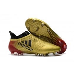 adidas Nuovo Scarpa X 17+ Purespeed FG Oro Rosso