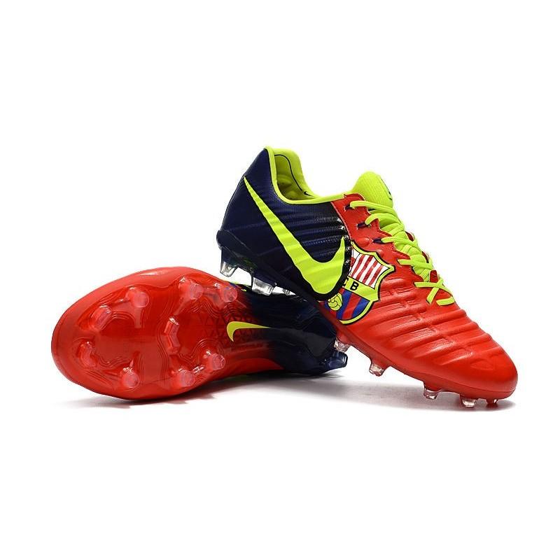 Fg Da Uomo Tiempo Nike Vii Legend Barcelona Scarpe Calcio 4R3qj5AL