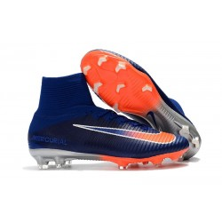 Nike Mercurial Superfly 5 Dynamic Fit FG Scarpe Blu Arancio