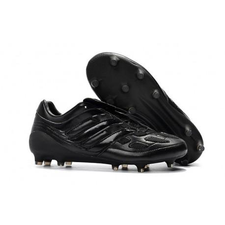 adidas Predator Precision FG Nuovo Scarpa da Calcio - Tutto Nero