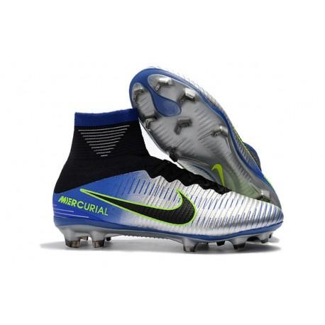 Nike Mercurial Superfly 5 Dynamic Fit FG Scarpe Neymar Cromo Azul
