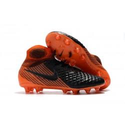 Nike Magista Obra II FG Scarpe da Calcio - Nero Arancio
